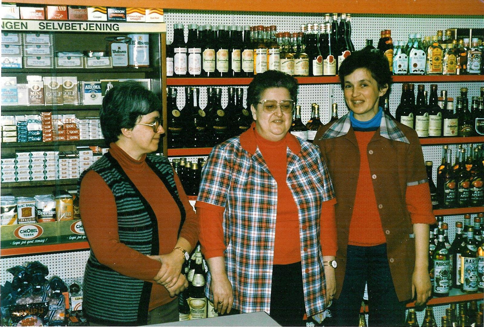 Fra venstre er det Eva Skov, Bodil Horshauge og Bente Larsen