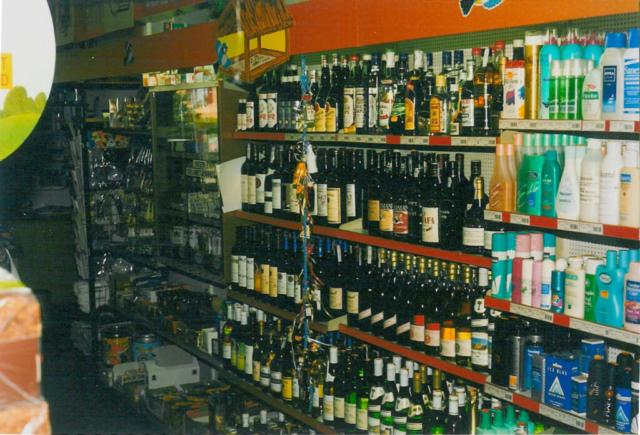 Den store butik med områderne: Vin & Tobak og Personlig Pleje
